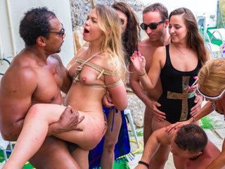 LETSDOEIT - Russian Teen Tortured in BDSM Humiliation Scene