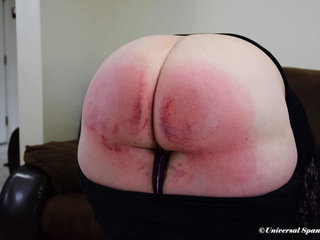 Caned For Cleavage a difficulty Law! - (Spanking)