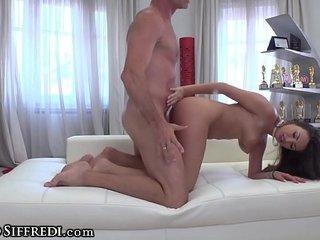 Rocco Siffredi Uses his Immense Manstick 2 Satiate Natural Big-titted Romanian Sexpot