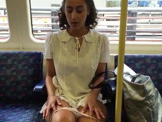 teen upskirt metro
