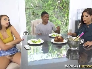 Stepmother Bridgette B Meets With Her Stepdaughter's Fresh Bf