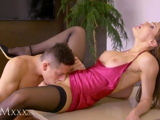 MOMxxx Hungering Russian stepmom Kitana Allure needs hard young cock