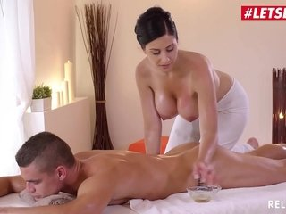 LETSDOEIT - Czech MILF Takes Young Chubby Cock On Hot Massage Coition (Alex Moonless & Max Dior)