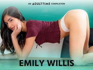 Full-grown Discretion  Emily WIllis COMP, Creampie & Rough Intercourse