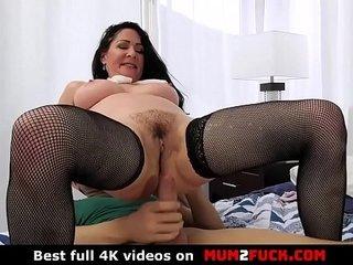 Horny grown up slut Alexandra Silk banged lasting