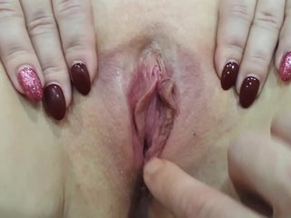 Playing Roughly my Wife's Pussy