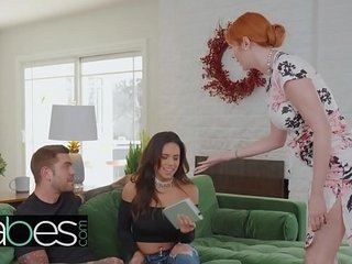 Conduct oneself Nourisher Lessons - (Lauren Phillips, Juan Lucho, Autumn Falls) - Stepmom Learns a Task - BABES